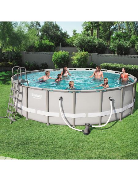 BESTWAY Pool-Set »Power Steel«, Ø x H: 549 cm x 132 cm
