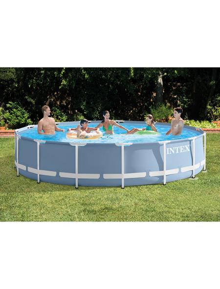 INTEX Pool-Set »Prism Rondo«, Ø x H: 457 cm x 84 cm