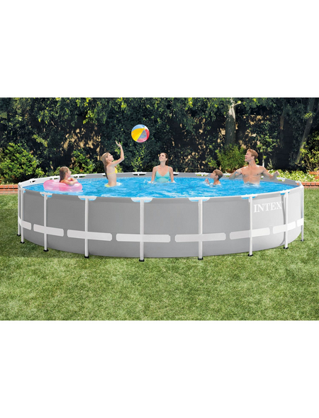 INTEX Pool-Set »Prism Rondo«, rund, Ø x H: 610 x 132 cm