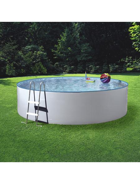Pool-Set , rund, Ø x H: 350 x 120 cm