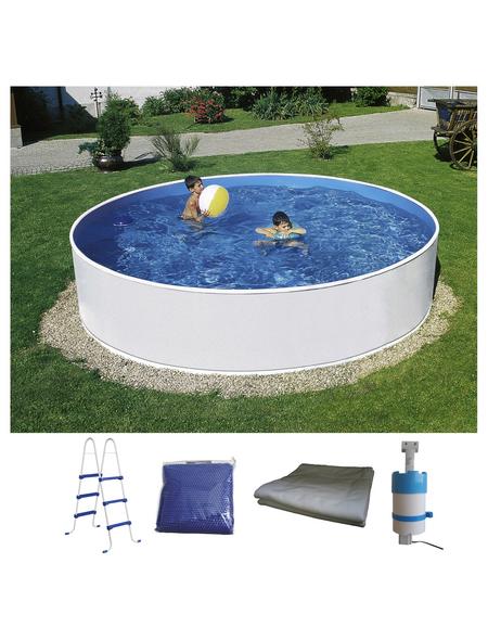 MYPOOL Pool-Set , rund, Ø x H: 360 x 90 cm