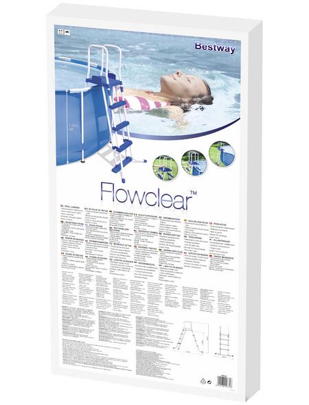 BESTWAY Pool-Sicherheitsleiter »Flowclear«, mit 2 Stufen, für Aufstellpools
