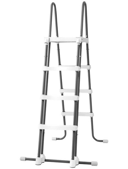 INTEX Pool-Sicherheitsleiter »Intex«, mit 4 Stufen, für Stahlwandpools und Aufstellbecken