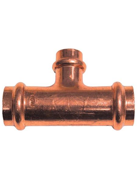 CORNAT Press-T-Stück, Kupfer