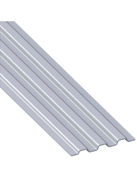 alfer® aluminium Profil »combitech®«, BxHxL: 68,5 x 5,4 x 1000 mm, silberfarben
