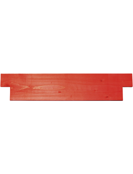 KRAUSE ProTec Querbord, MONTO, rot, 70 cm
