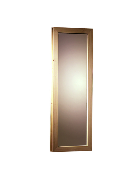 KARIBU <p>Saunafenster, für Fassauna, BxH: 25x60 cm</p>