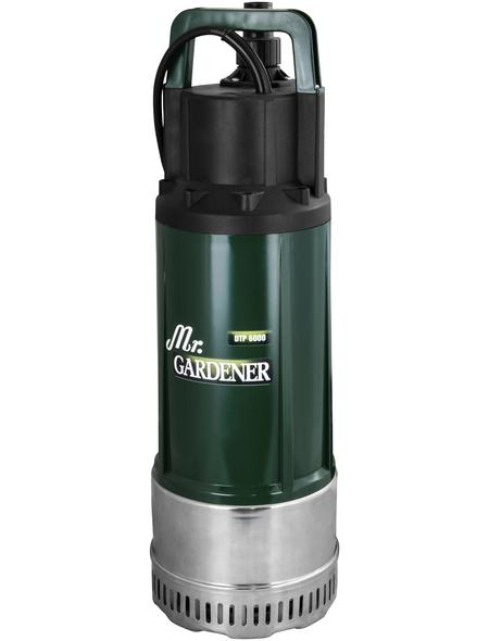 MR. GARDENER Pumpe »DTP 6000«, 1200 W, Fördermenge: 6.000 l/h