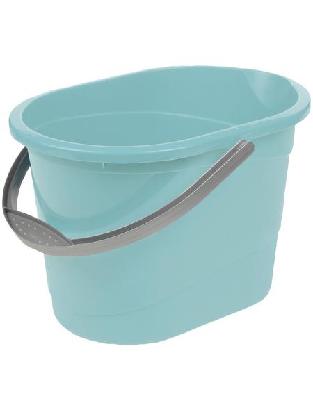 KEEEPER Putzeimer »Thies«, 13 l, aqua blue