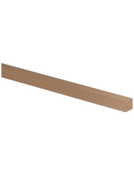 FN NEUHOFER HOLZ Quadratleiste, buchenfarben, Holz, LxHxT: 95 x 2 x 2 cm