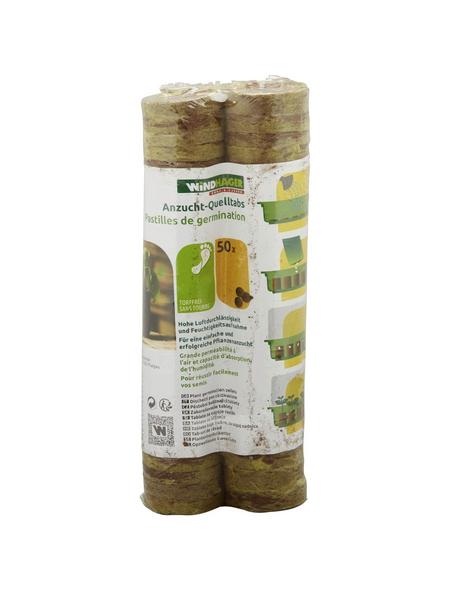 WINDHAGER Quelltab, Kokosfaser, 50 Stück