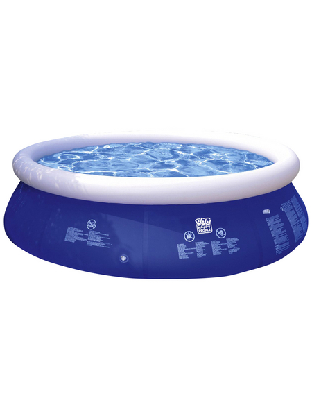HAPPY PEOPLE Quick-Up Pool , rund, Ø x H: 240 x 63 cm