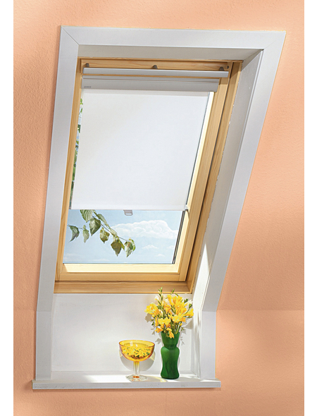 VELUX Raffrollo »RHL PK00 1086«, beige, Polyester