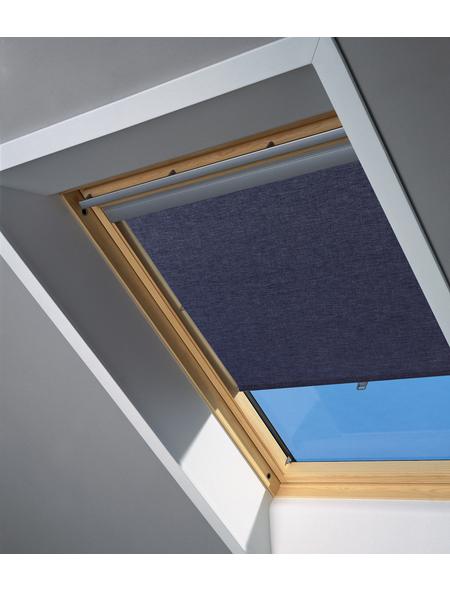 VELUX Raffrollo »RHL UK00 9050«, blau, Polyester