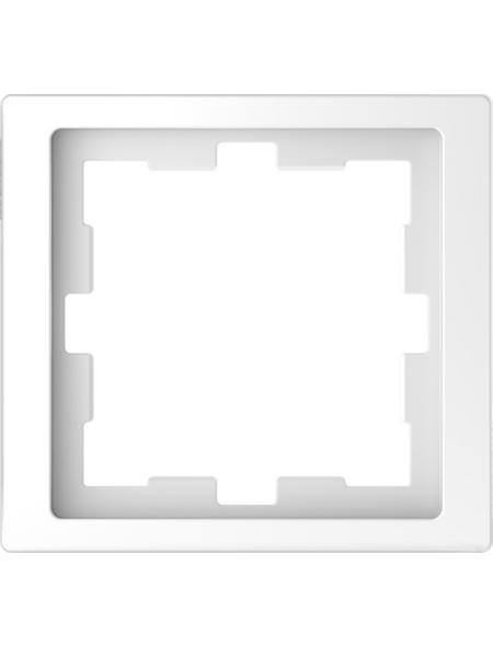 merten Rahmen, D-Life, IP20, 1-fach, lotosweiß, Thermoplast