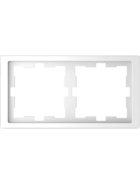 merten Rahmen, D-Life, IP20, 2-fach, lotosweiß, Thermoplast