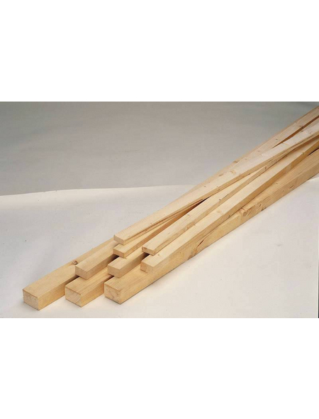 KLENK HOLZ Rahmenholz, Fichte / Tanne, BxH: 5,8 x 3,8 cm, rau