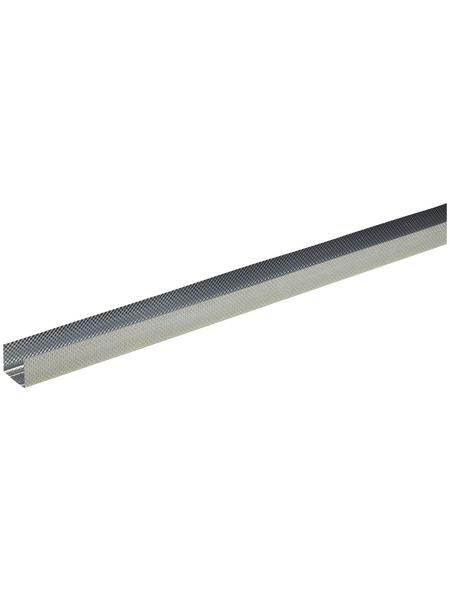 Rahmenprofil, LxBxH: 2000 x 50 x 40 mm, Stahl