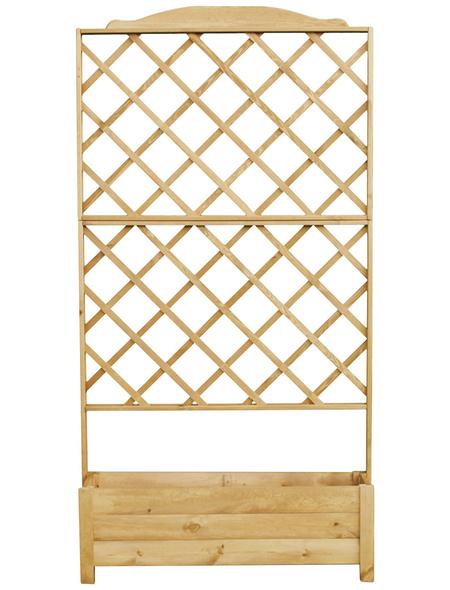 PROMADINO Rankkasten, BxHxT: 110 x 210 x 32 cm, Kiefernholz