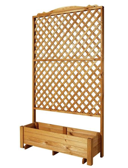 PROMADINO Rankkasten, BxHxT: 120 x 210 x cm, honig