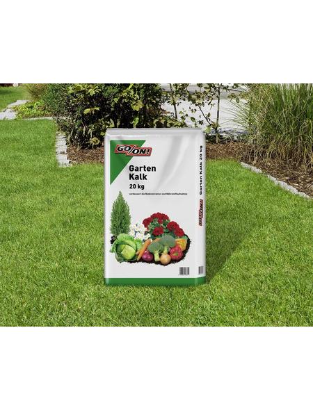 GO/ON! Rasendünger, 20 kg, für 200 m², schützt vor Übersäuerung