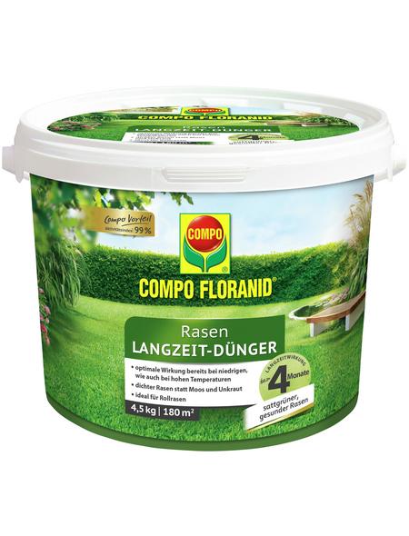 COMPO Rasendünger »FLORANID«, 4,5 kg, für 180 m², schützt vor Mangelerscheinungen