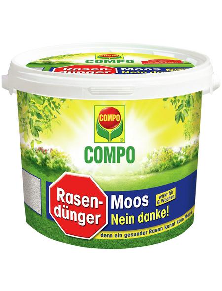 COMPO Rasendünger & Moosvernichter, 4 kg, für 160 m², schützt vor Moos