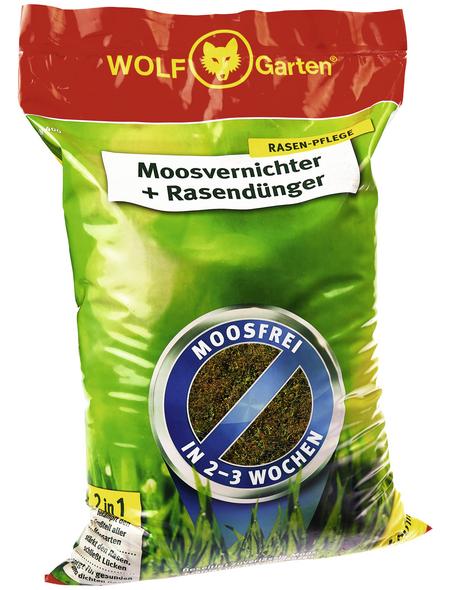 WOLF GARTEN Rasendünger & Moosvernichter »SW 400«, 14 kg, für 400 m², schützt vor Moos