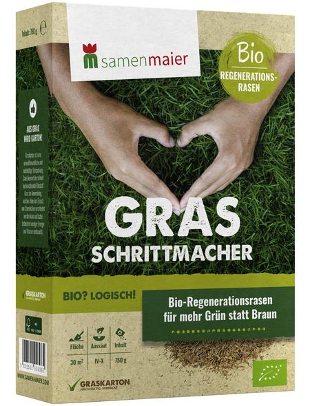 SAMEN MAIER Rasensamen »BioRegenerationsrasen Grasschrittmacher«, Bio-Qualität