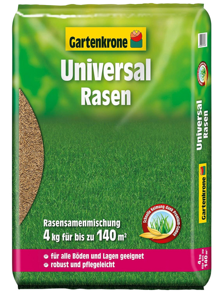 GARTENKRONE Rasensamen für 160 m²
