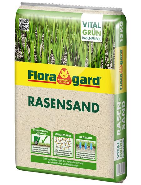 FLORAGARD Rasensand, 12,5 l, geeignet für: Rasen