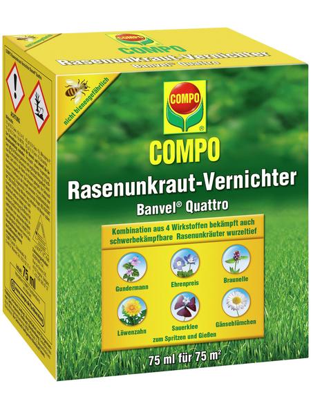 COMPO Rasenunkrautvernichter Banvel® Quattro 75 ml