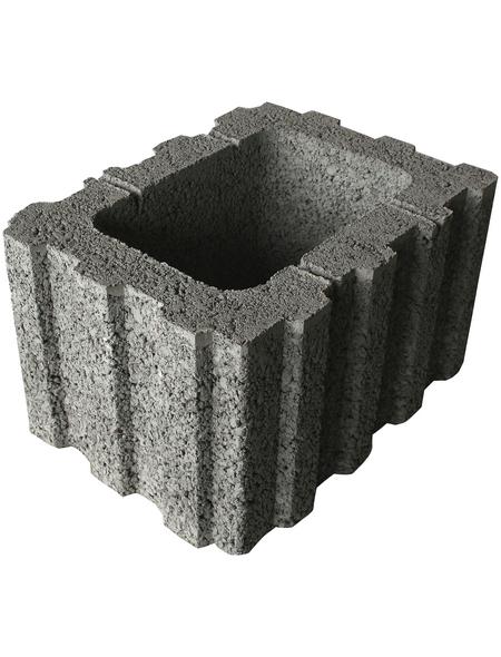 EHL Ratioflor, BxHxL: 40 x 25 x 30 cm, Beton