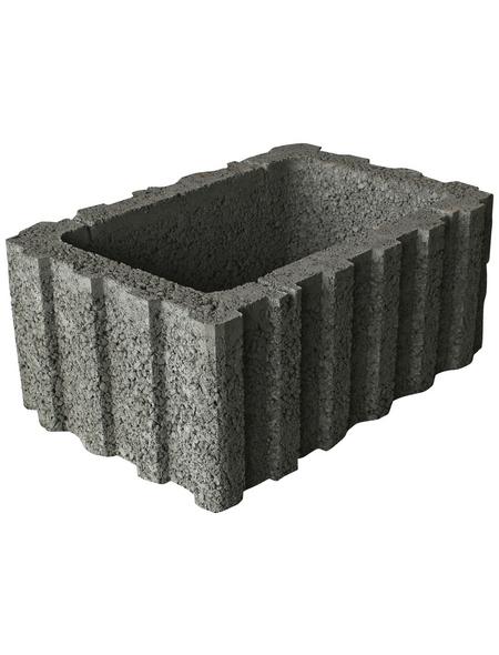 EHL Ratioflor, BxHxL: 60 x 25 x 40 cm, Beton