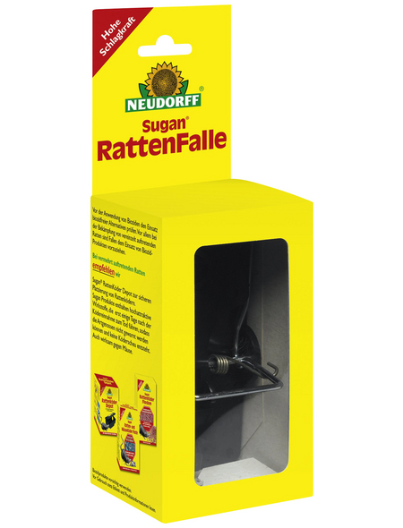 NEUDORFF Rattenfalle »Sugan«, Stahl/Kunststoff