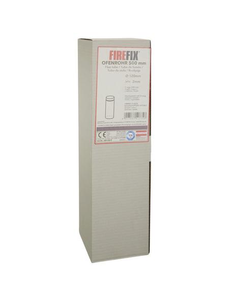 FIREFIX® Rauchrohr, Ø: 12 cm, Stärke: 2 mm, Stahl