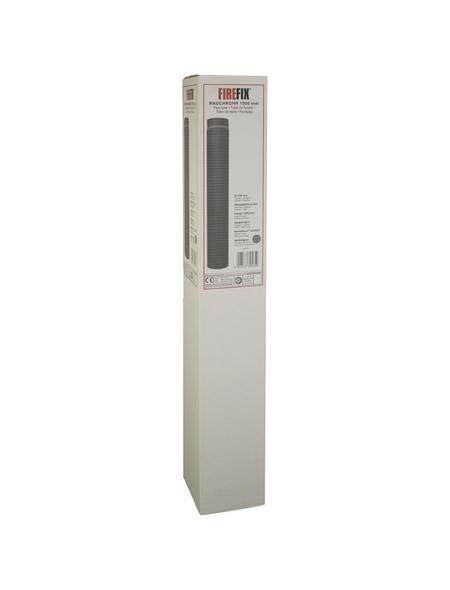 FIREFIX® Rauchrohr, ØxL: 15 x 100 cm, Stärke: 2 mm, Stahl