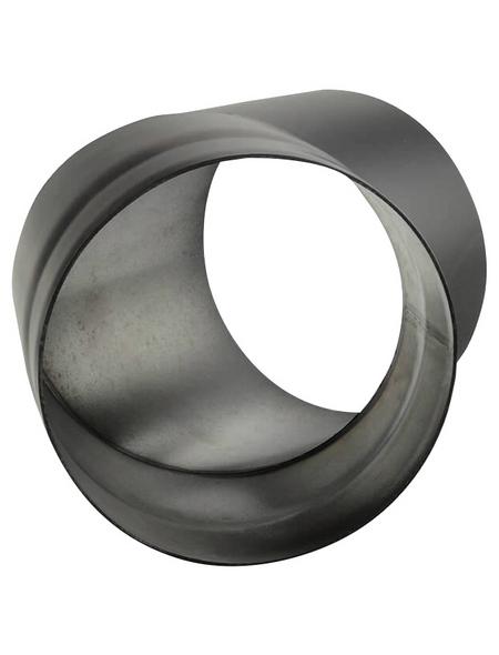 KANUK® Rauchrohr, ØxL: 16 x 22,5 cm, Stärke: 2 mm, Stahl