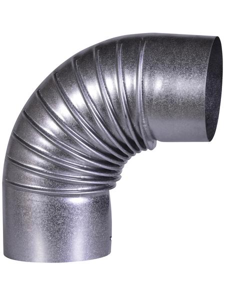 FIREFIX® Rauchrohrbogen, Ø: 11 cm, Stärke: 0,6 mm, Stahl