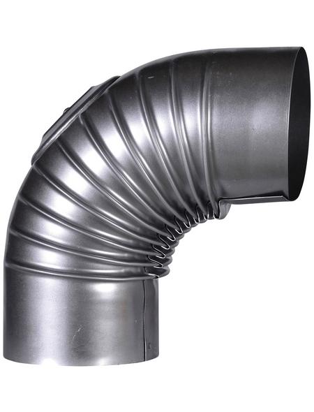 FIREFIX® Rauchrohrbogen, Ø: 12 cm, Stärke: 0,6 mm, Stahl