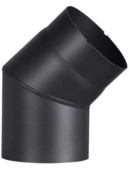 FIREFIX® Rauchrohrbogen, ØxL: 15 x 15,5 cm, Stärke: 2 mm, Stahl