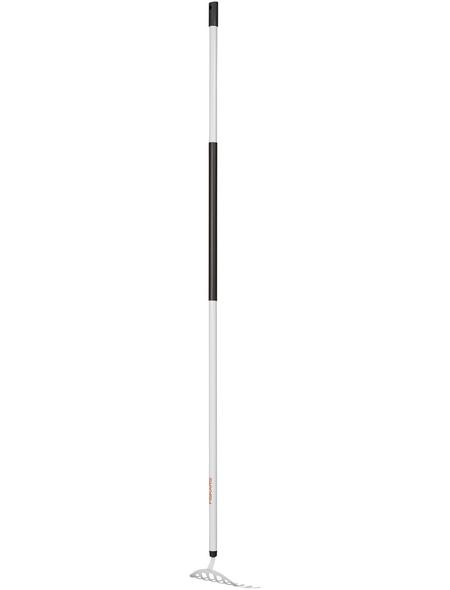 FISKARS Rechen »Light«, Arbeitsbreite: 25 cm, weiss/schwarz
