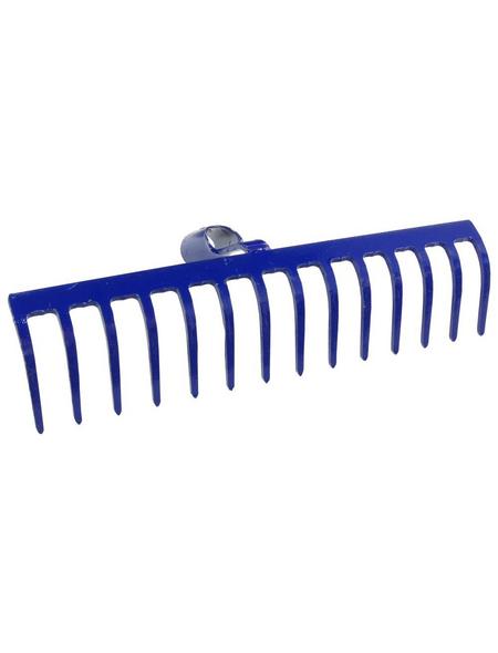 CONNEX Rechen, Metall, blau