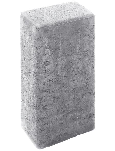 MR. GARDENER Rechteck-Palisade, Beton, 40  x  16,5  x  12 cm, 1 Stück
