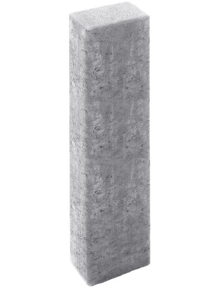MR. GARDENER Rechteck-Palisade, Beton, 80  x  16,5  x  12 cm, 1 Stück