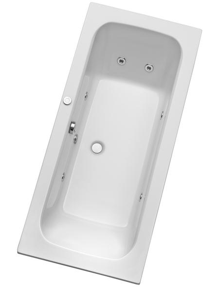 OTTOFOND Rechteckduschwanne für 1 Person, BxTxH: 80x180x41 cm