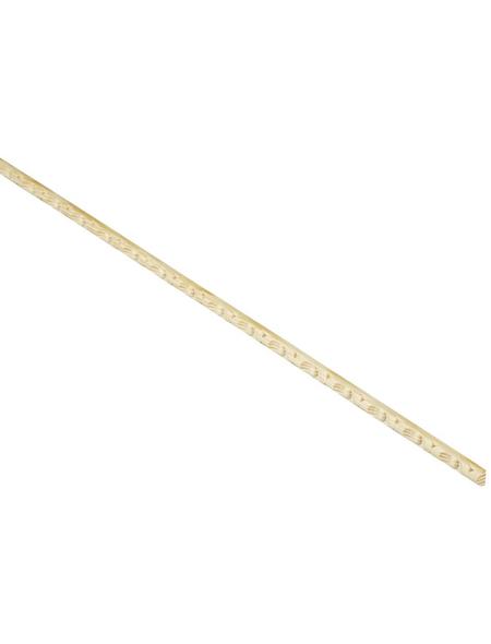 FN NEUHOFER HOLZ Rechteckleiste, Fichte- & Kieferholz natur, LxHxT: 100 x 1 x 0,5 cm