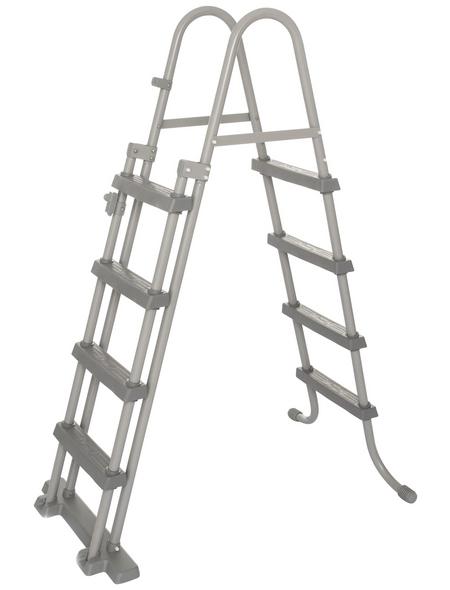 BESTWAY Rechteckpool »Power Steel™«, grau, BxHxL: 549 x 122 x 274 cm