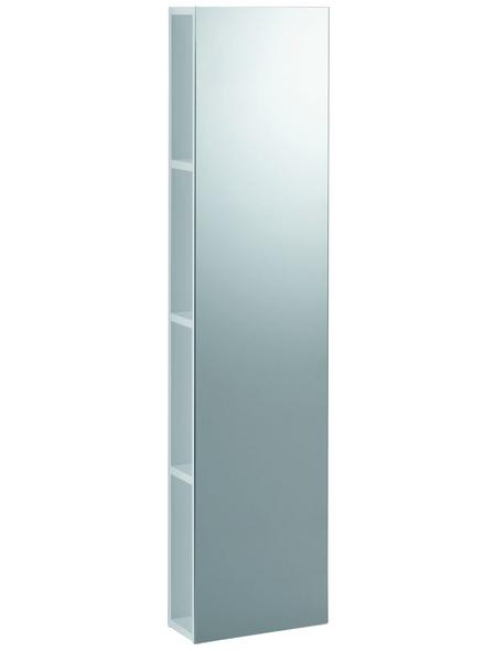 GEBERIT Regal »iCon«, mit Spiegel, BxH: 28 x 120 cm, Holzspanplatte