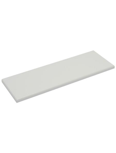 Duraline Regalboden »4xS XS2«, BxT: 60 x 20 cm, Holzwerkstoff, weiß
